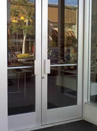 Commercial door repair - Commercial Aluminum Doors
