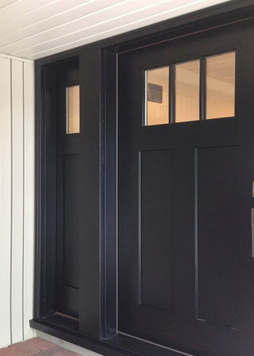 Commercial door repair - Commercial Fiberglass Door
