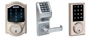 Electronic lock   Keylees door locks