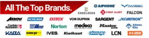 Locks brands we work with - residential locksmith