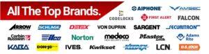 Locks brands we work with - residential locksmith