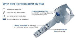 High security locks - Rochester NY locksmith